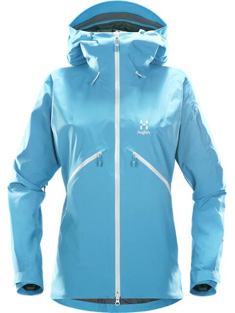 Haglöfs W's Khione Jacket Blue Fox